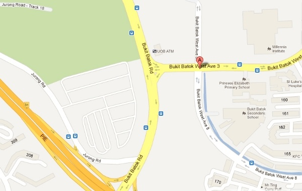 Dulwich College Singapore Location Map